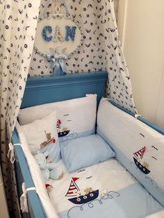 Baby Bedroom, Baby Boy Rooms, Baby Room Decor, Nursery Room, Kids Bedroom, Room Baby, Baby Applique, Cot Bumper, Baby Sheets