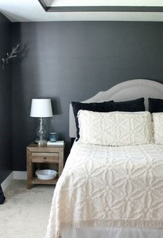 Bedroom Paint Colors, Bedroom Makeovers, Modern Bedroom, Bedroom Decor, Bedroom  Ideas, Relaxing Colors, House Painting, Master Suite, Master Bedroom