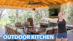 Build Outdoor Kitchen, Carpentry, Science And Technology, Outdoor Ideas, Outdoor Decor, Pergola, Outdoor Structures, Outdoor Furniture, Wood
