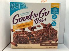 Crazy Food Dude Review: South Beach Diet Good to Go Gluten-Free Dark Chocolate Bars