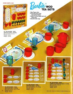 Fall 1970 HG Toys Toy Catalog Brochure Barbie Tea Sets Cleaning Sets D22 | eBay Sindy Doll, Vintage Barbie Dolls, Toy Catalogs, Pots And Pans Sets, Play Barbie, Merchandising Displays, Barbie Collector, Barbie Friends, Tea Sets