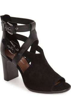 DONALD J PLINER 'Ronnie' Block Heel Cage Sandal (Women). #donaldjpliner #shoes #sandals