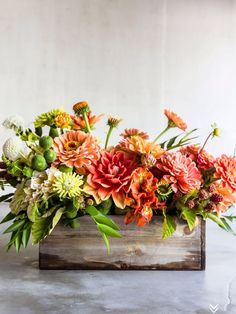 There were not nearly enough pages in our March issue to accommodate all of the bouquets floral guru, Christina Stemble of Farmgirl Flowers, put together from our cutting garden. We thought you mig… Cut Flower Garden, Flower Farm, Flower Gardening, Organic Gardening, Cut Garden, Fall Flower Arrangements, Floral Centerpieces, Dahlia Centerpiece, Modern Floral Arrangements