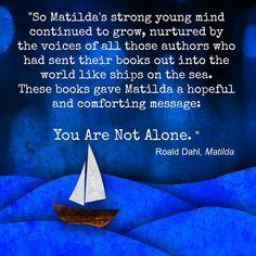 Love Roald Dahl.