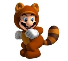 PETA, the morons, trying to claim that Mario wearing this suit promotes that it's okay to wear fur.   The costume is based of a mythological animal, for one.  Two, they made a disturbing video game parody.  Three, I do NOT WANT TO LIVE ON THIS PLANET ANYMORE