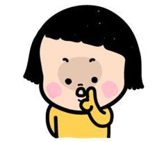 Mobile Girl, MiM by Funnyeve - Creators' Stickers Cartoon Stickers, Cute Stickers, Mom Mobile, Gifs, Molang, Illustration Art, Illustrations, Teddybear, Cute Chibi