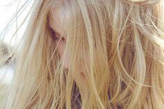 ^-^ Must've just woke up, since her hair is sorta messy. ;)