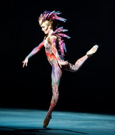This costume from the English National Ballet's 'Firebird' is absolutely stunning.