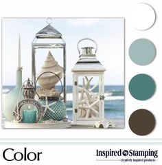 Color Palette - Mood Board - Inspired by Stamping