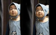 Little red riding hood, minguk version Asian Kids, Asian Babies, Superman Kids, Song Daehan, Song Triplets, Red Riding Hood, Little Red, Baby Pictures, Baby Animals