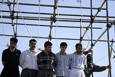Iran: 7 prisoners executed, 45 face imminent execution   NCRI - In yet another antihuman atrocity, Iranian regime's henchmen hanged seven prisoners in Adel-Abad Prison of Shiraz on June 7. These prisoners had been transferred to solitary confinement two days earlier. On Saturday and Sunday, 45 prisoner...