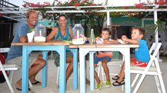 Dinner with no money :-) Sailing Trips, Thunderstorms, Grenada, Maya, Around The Worlds, Money, Dinner, Friends, Lightning Storms