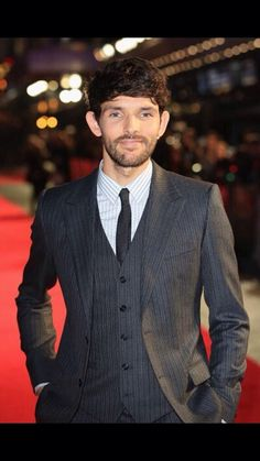 Testament of Youth Red Carpet Premiere, London Dolce & Gabbana suit