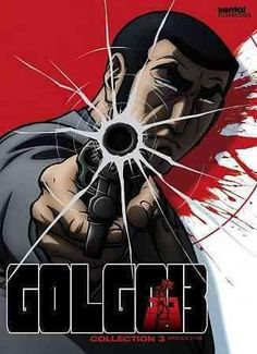This release from the gritty anime series GOLGO 13 includes episodes 27-38 of the show's second season, following the story of the deadliest assassin in the world as he grapples with a crazed religiou
