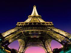 Favorite shot ever!  #Paris #eiffel tower