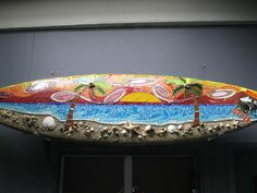 Surfer's Sunset by Institute of Mosaic Art, via Flickr