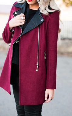CARA LOREN...I'm really feeling this coat
