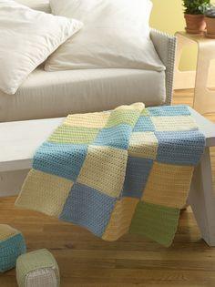 Baby Blocks Afghan Pattern (Crochet)