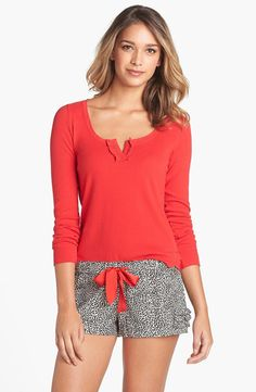 Juicy Couture Flannel Short Pajamas available at Womens Pjs, Womens Pyjama Sets, Juicy Couture, Cute Pjs, Cute Pajamas, Pijamas Women, Leotard Fashion, Quoi Porter, Trendy Swimwear