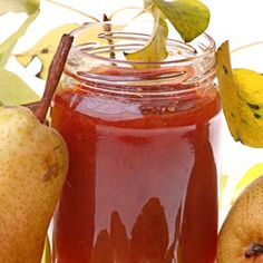 This pear jam recipe, a simple and easy canning recipe to preserve juicy pears for all year enjoyment, prepares sweet and lip smacking mildly spiced jam that can be used in many recipes. Easy Canning, Canning Recipes, Pear Preserves, Pear Jam, Homemade Jelly, Pear Recipes, Jam And Jelly, Yummy Snacks, Favorite Recipes