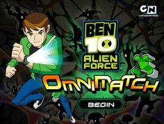 Ben 10 Omnimatch game online