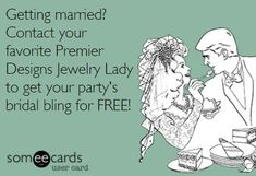 I would LOVE to help you get your bridal party's jewelry for FREE! We have beautiful ensembles for brides as well ;)  Contact me if you'd like to see our online catalog :)