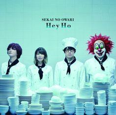 Sekai no Owari - Hey Ho [Type A] (First Press Limited Edition) (Japan Version) Cd Album, End Of The World, Visual Kei, News Songs, Music Bands, Reggae, Joker, Japanese, North America