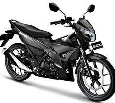 this Shown with Black color in GIIAS Suzuki Satria F150 Black Predator sale Rp22 Million by future cars