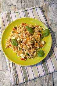 Punktefreundlich: Mediterraner Risoni Salat