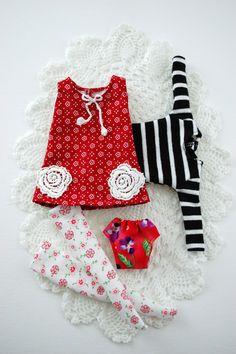 Blythe outfit THE LAST ONE 4 items  by Miema von miema4dolls