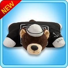 US Navy Pillow Pet :) I'm thinking Otis the Owl might need a friend...