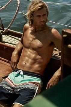 Chill out in the newest H&M swimwear. #HMSWIM