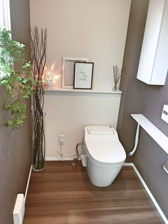 Bathroom Niche: Learn How To Choose And See Ideas With Photos - Home Fashion Trend Bathroom Niche, Bathroom Toilets, Bathroom Colors, Small Bathroom, Neutral Bathroom, Washroom, Master Bathroom, Bathroom Ideas, Small Toilet