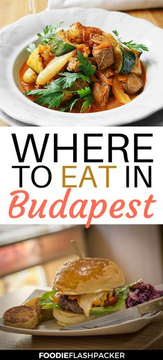 With so many great restaurants in Budapest, hungary, deciding where to eat can be a daunting task! Luckily, my blogger friends helped me list the best Budapest restaurants for you. Discover where to eat in Budapest next time you are in town: from where to find authentic Hungarian dishes, to vegan food, to the best burger — this list has you covered! | Budapest food restaurants | Budapest food guide | Budapest best restaurants | Budapest best places to eat #budapest - via @foodieflashpack