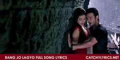 Rang Jo Lagyo Lyrics: A lovely, peaceful, romantic song lyrics from the movie Ramaiya Vastavaiya. The song is sung by Atif Aslam and Shreya Ghoshal. The