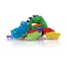 Flopper Teether Toy - Crocodile  brand:Nuby      Multiple Teething Surfaces      Massaging Nub-eez      Easy for baby to hold      Suitable for 0m plus      BPA free #NubyBaby