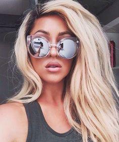 0f5c7014b7003 Fashion Brand Design Cat Eye Sunglasses Women Vintage Mirror Sunglass  Female Sun Glasses For Women Glasses Gafas Oculos De Sol