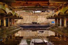 Altar if St. Peter's seminary by abandoned Scotland.