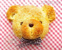 Milk Crisp Buns 奶酥面包  Recipe (Victoria Bakes - Baking Into The Ether), dough made using TangZhong method
