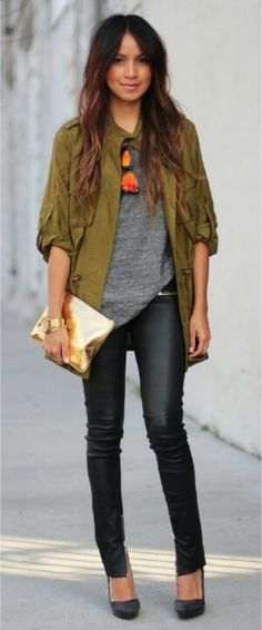 great transition into spring look