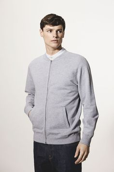 håndværk | Perfect Basics. | French Terry Loopback Bomber