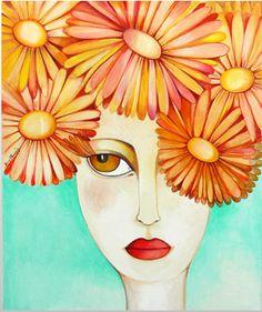 Billedresultat for baraka cuadros miguel angel rodriguez Shock And Awe, Outline Drawings, Prayer Cards, Woman Painting, Cute Illustration, Teaching Art, Fractal Art, Face Art, Mixed Media Art