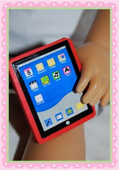 doll size tablet
