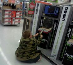 Meanwhile at Walmart . . .