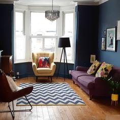 F&B stiffkey blue paint. Stiffkey Blue, Victorian House, Paint, Room, Instagram, Home Decor, Bedroom, Victorian Townhouse, Picture Wall