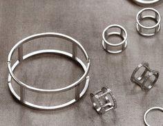 Edblad AW15 bracelets steel helena low