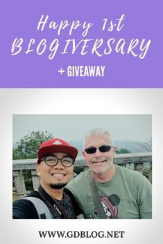 Happy 1st Blogiversary   GIVEAWAY