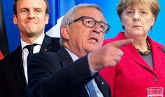United states of Europe: Junckers plot for Chancellor for ALL of EU #world #news