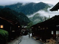 Parts of Japan's 17th-century Nakasendo Highway have been preserved and restored to their original tranquility.