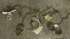 Antique-looking long necklaces